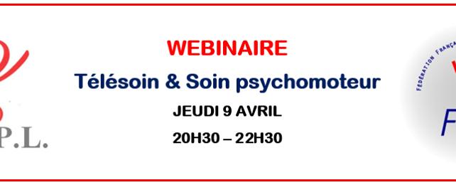 Télésoin et Soin Psychomoteur – Webinaire le jeudi 9 avril 20h30